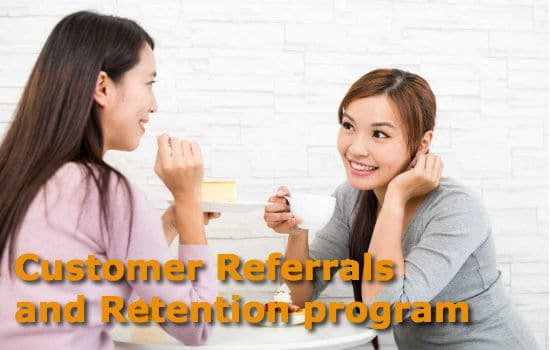 customer referral and retention
